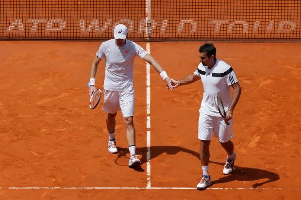Daniel Nestor, Zimonjic win doubles