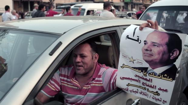 Abdel-Fattah el-Sissi supporter