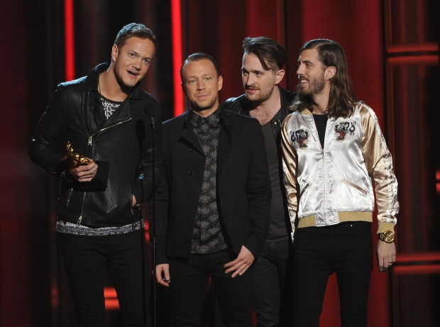 Imagine Dragons win Billboard Music Award