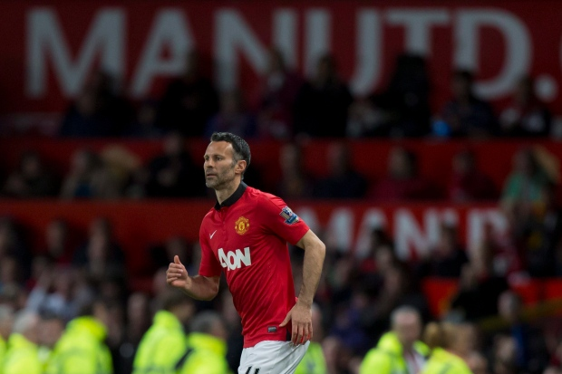 Ryan Giggs plays for Manchester United