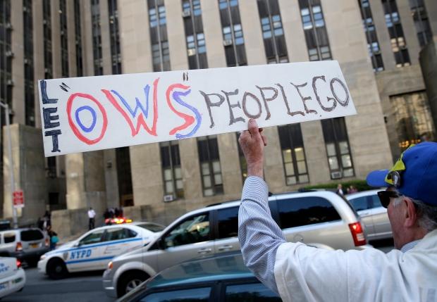 Occupy Wall Street sentencing