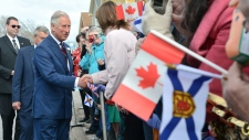 Prince Charles  in Pictou, N.S.
