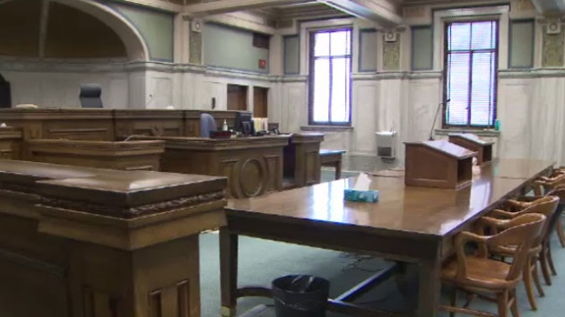 Cameras will be in a Manitoba courtroom for the third time Tuesday. (file image)