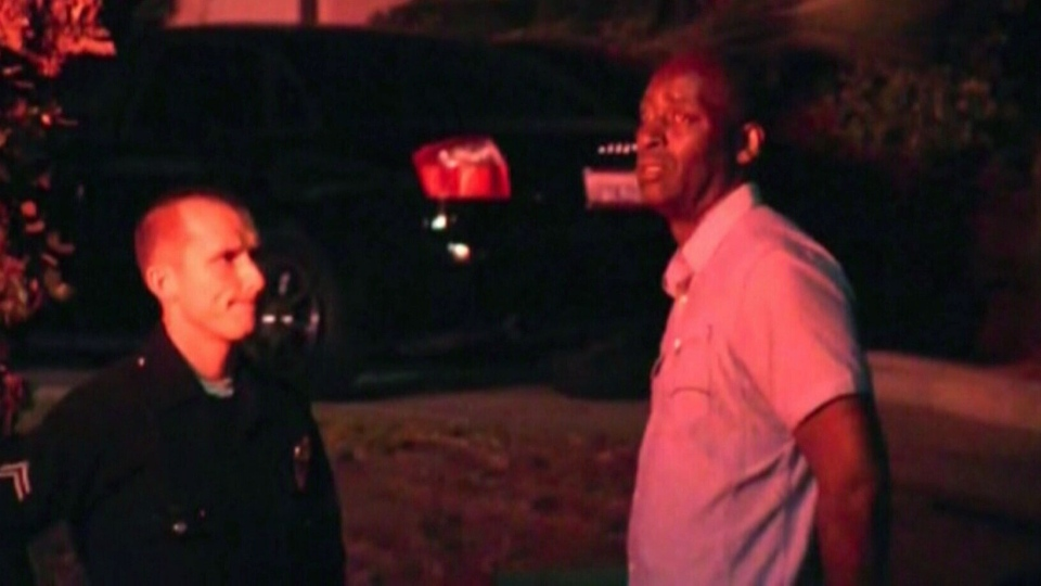 Actor Michael Jace is questioned by police after his wife was found dead inside their home.