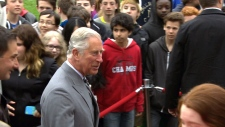 Prince Charles in PEI