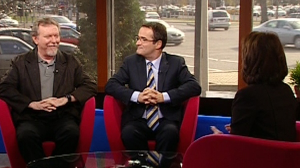 Don Macpherson and Jean Lapierre discuss politics (Nov. 18, 2011)
