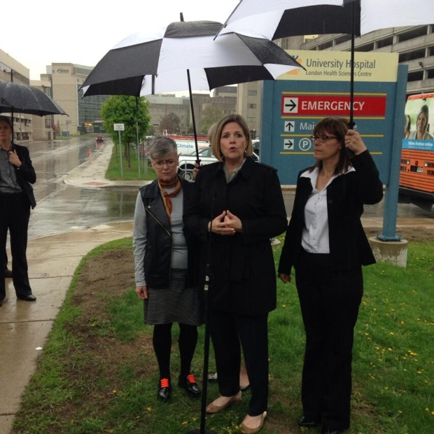 Ndp Government Would Cut Emergency Room Wait Times In Half
