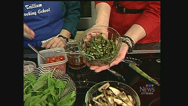 CTV's Leanne Cusack and food specialist Pam Collacott share spring's fabulous food flavours.