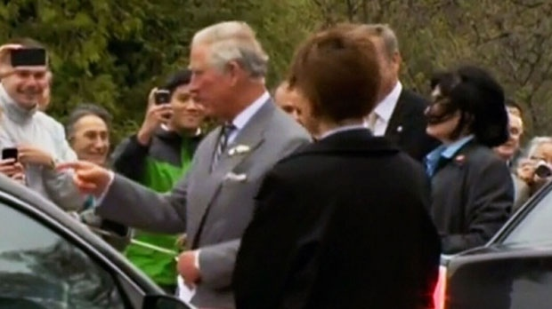 Prince Charles in Winnipeg