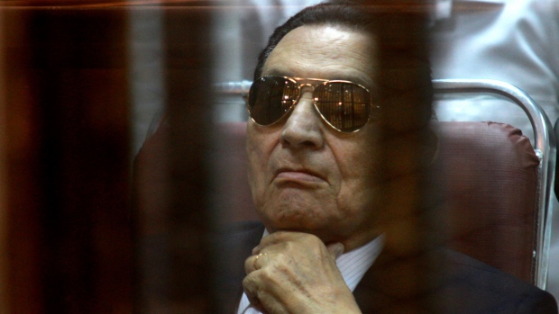 Hosni Mubarak in April, 2014