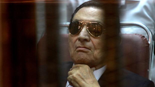 Hosni Mubarak in April, 2014