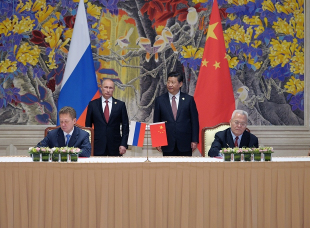 Russia, China sign natural gas deal