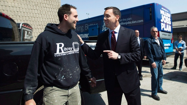 Hudak plans to create 500,000 jobs