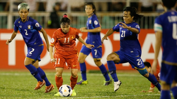 Thai women's team makes World Cup for first time