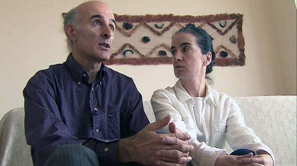 Vakhtang Makhniashvili and wife Lela Tabidze reunited their family in Toronto in June of 2009 after they were given permanent residence status.