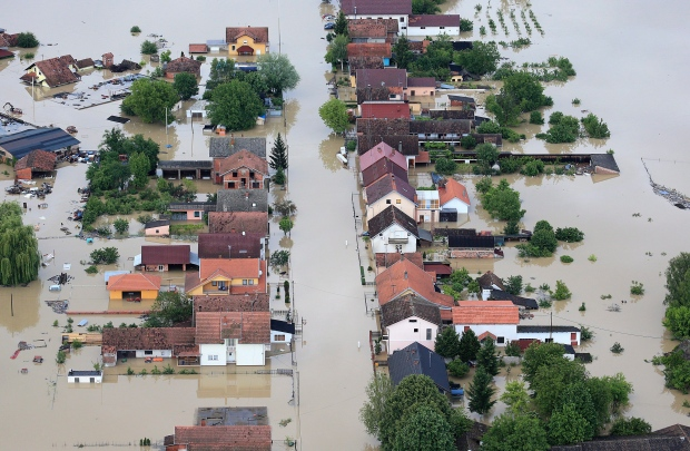 Balkans flood damage to be costly