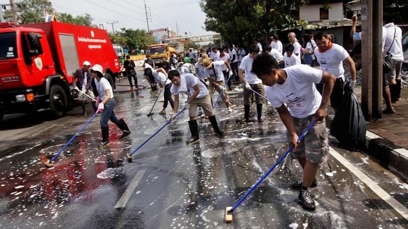 Thailand, flood, victims