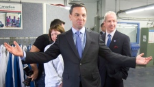 Hudak in Ottawa for Ontario election campaign