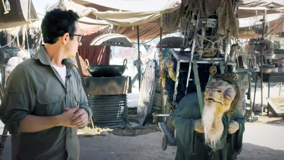 J.J. Abrams is giving fans a shot at a cameo in the Star Wars film that's set to be released next year.