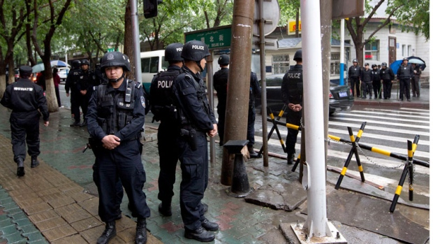 Bombing in China's Xinjiang region