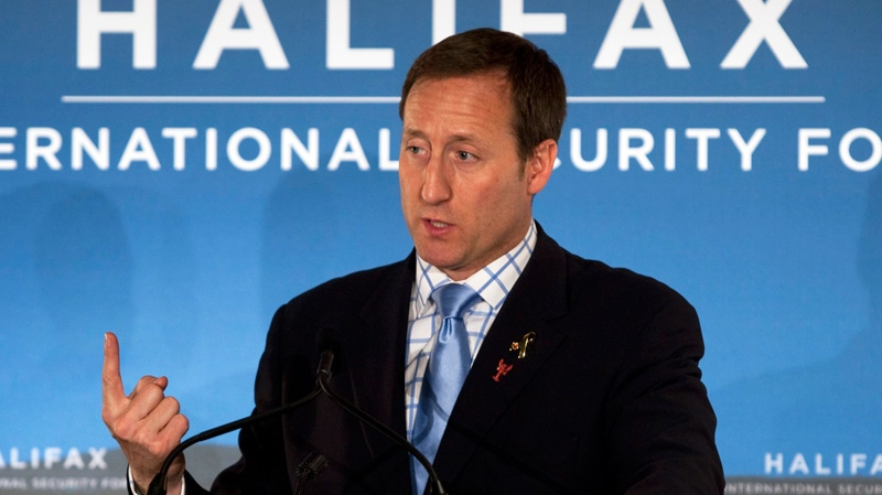 Defence Minister Peter MacKay says Canada ready to help Syria