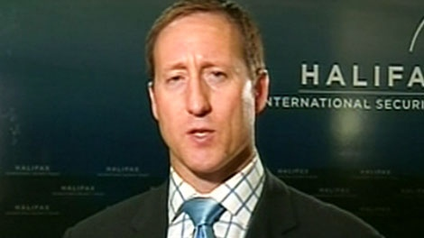 Defence Minister Peter MacKay appears on CTV's Question Period on Sunday, Nov. 20, 2011.