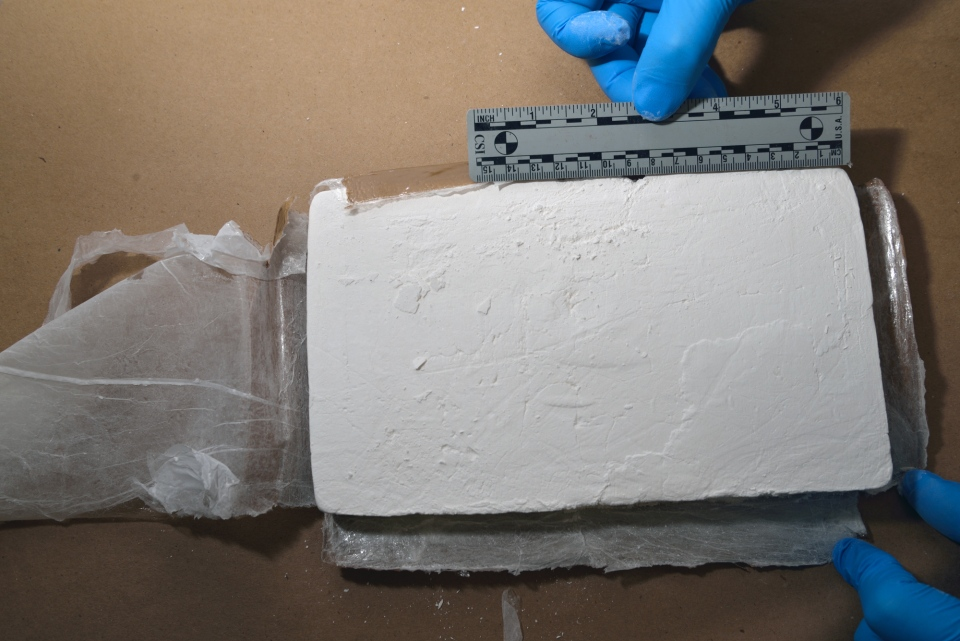 Cocaine seized as part of Project Greymouth is seen in this photo provided by the OPP.