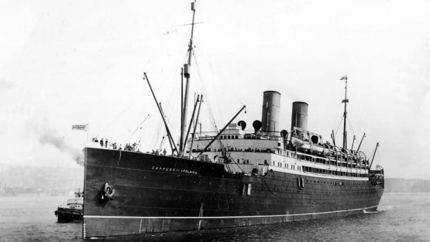 The Empress of Ireland steamship