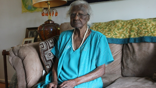 Jeralean Talley turns 115 years old in May 2014