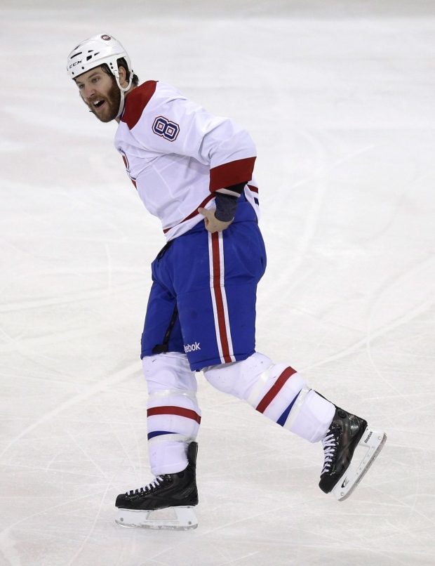 Montreal Canadiens' Brandon Prust