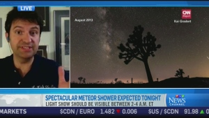 CTV News Channel:  '1000 shooting stars per hour'