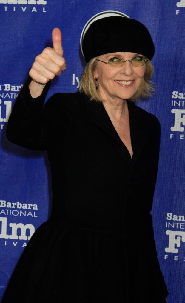 Actress Diane Keaton