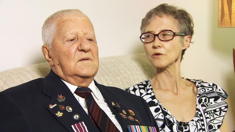 95-year-old Cpl. Stanley Fields played a key role in Canadian history but is tangled in bureaucratic red tape to take a trip to France for a D-Day ceremony in Normandy.