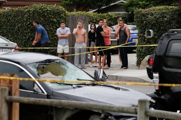 Alameda Car Crash Video