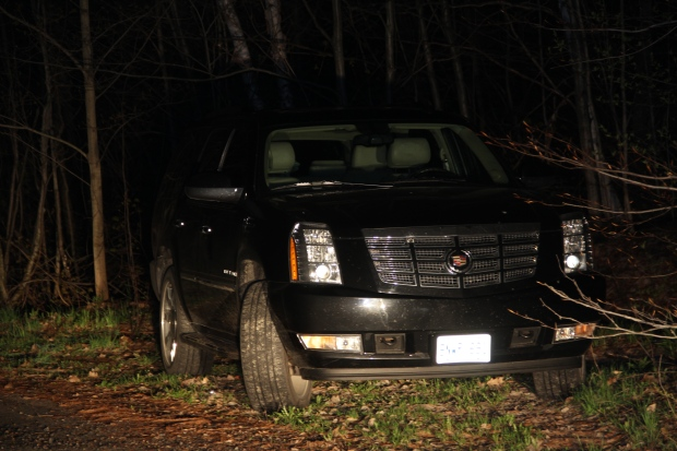 Mayor Rob Ford's black SUV