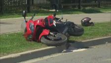Motorcycle Crash Vaughan