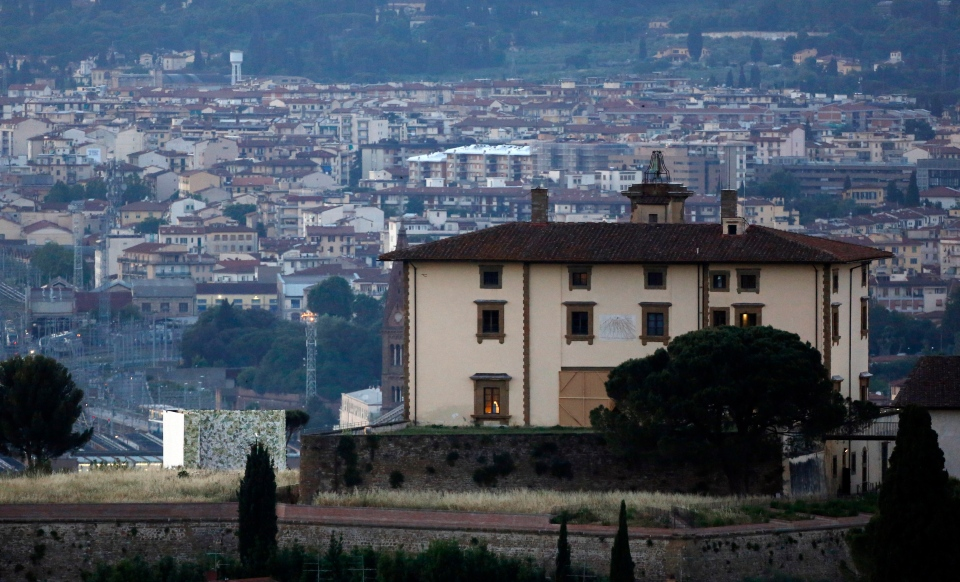 A view of the Fort Belvedere in Florence, Italy on Saturday, May 24, 2014. (AP / Gregorio Borgia)