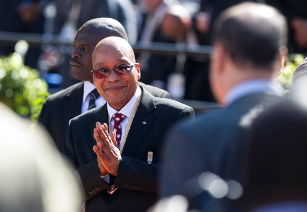 Jacob Zuma sworn in for second term