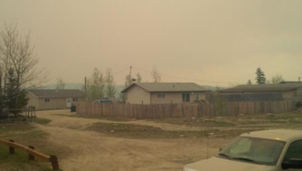 Crews battling Sask. forest fire hope rain will help extinguish blaze