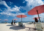 People take in the sun at Sugar Beach in Toronto in this file photo. (The Canadian Press/Nathan Denette)