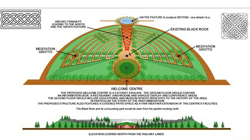 The group provided this photo of what they'd like a future park to look like. (Handout)