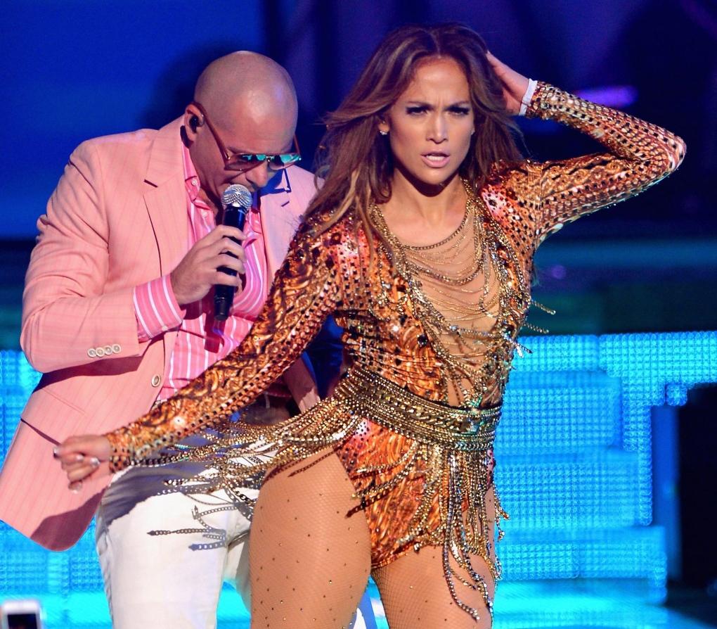 Jennifer Lopez and Pitbull