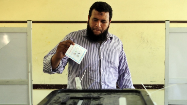 Egyptians vote on new president
