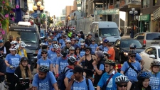 Cyclists hit the roads for Bike to Work Day