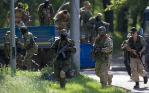 Battle for Donetsk: Ukraine launches airstrike