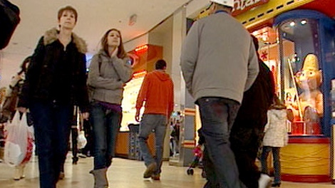 holiday shopping; christmas shopping; mall