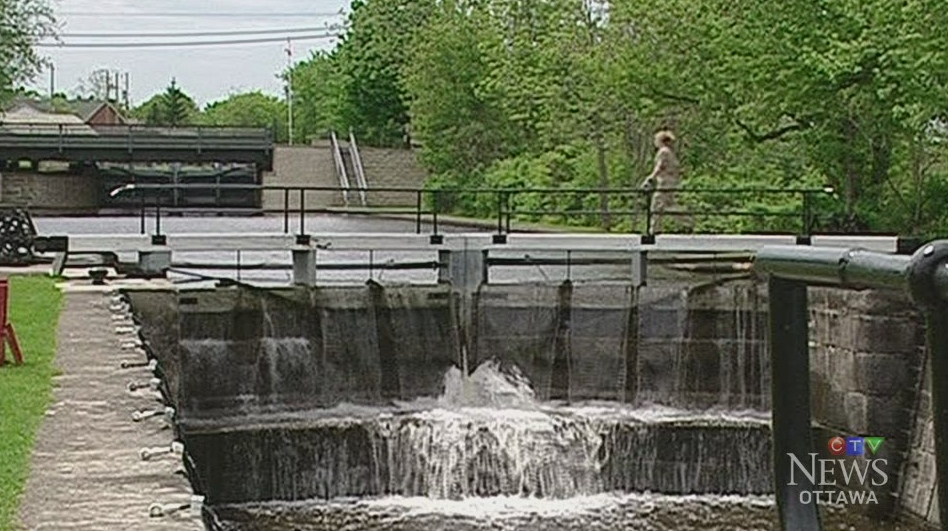 CTV Ottawa: High water closes Rideau Canal
