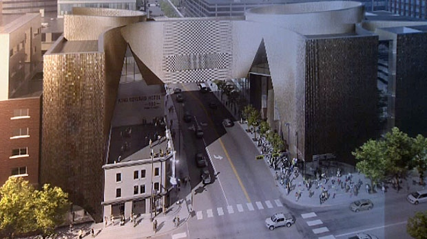 The National Music Centre is expected to open in 2016.