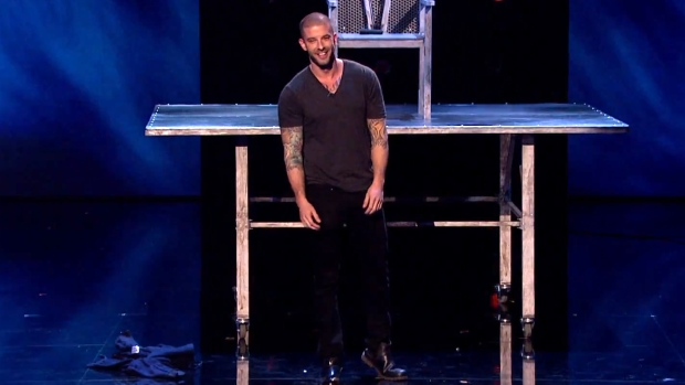 Britain's Got Talent: Watch as Canadian advances