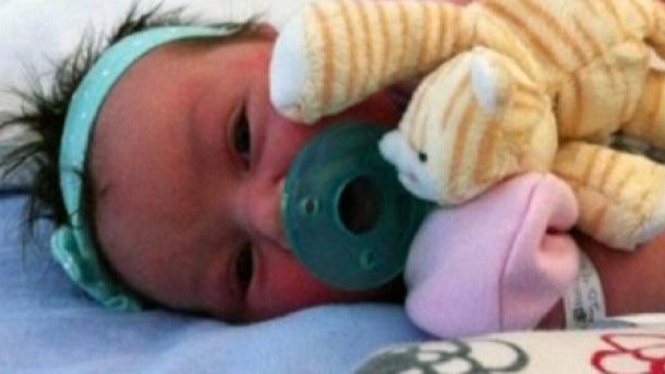 Quebec police have confirmed the day-old baby believed to be abducted from a Trois-Rivieres hospital has been found.